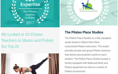 The Pilates Place Studios' Teachers are among the Best in Miami