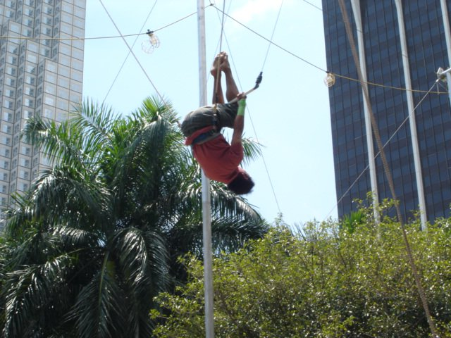 Join us for an afternoon of Trapezing!