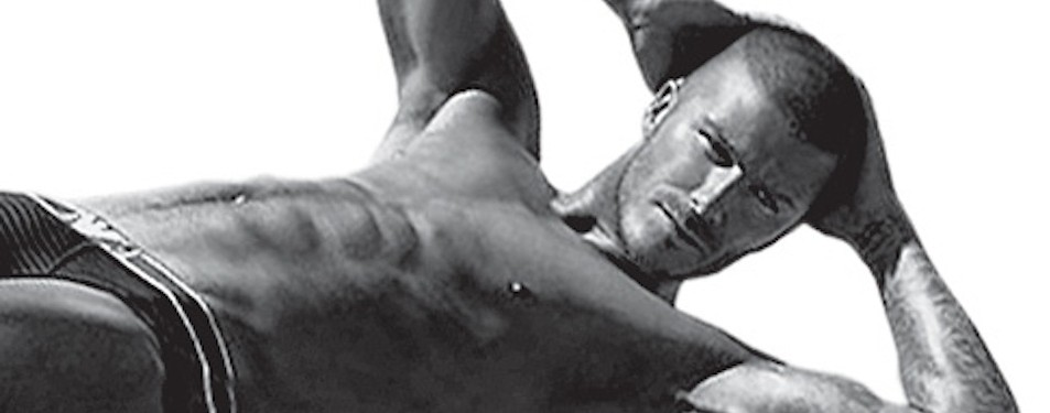 Beckham Uses Pilates To Engage His Core Beliefs.